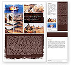 Military: War Conflicts Collage Word Template #05606