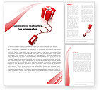 Careers/Industry: Online Gift Shop Word Template #05612