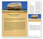 Business Concepts: Dream Word Template #05626