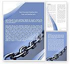 Business Concepts: Modelo do Word - cadeia de aço #05646