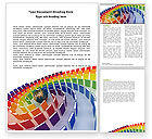 Education & Training: Book Publishing Word Template #05647