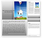 Careers/Industry: Mortgage Word Template #05657