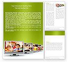 Education & Training: 워드 템플릿 - 키즈 컴퓨터 #05659