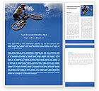 Sports: Freeride Word Template #05663