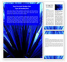 Abstract/Textures: Free Blue Crystal Word Template #05679