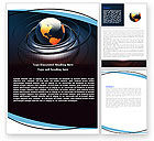 Global: Earth Word Template #05686