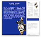 Utilities/Industrial: Water Meter Word Template #05692