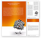 Business Concepts: Game of Chess Word Template #05694