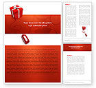 Holiday/Special Occasion: Online Present Shop Word Template #05702