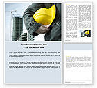 Construction: Builder Word Template #05710