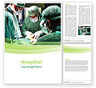 Medical: Anesthesia In Surgery Word Template #05727