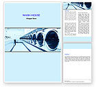 Careers/Industry: Laundry Word Template #05737