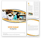 Education & Training: Reading Hall Word Template #05747