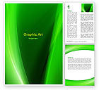 Abstract/Textures: Emerald Green Word Template #05753