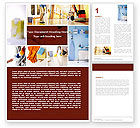 Careers/Industry: Housecleaning Word Template #05780