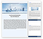 Construction: Ice City Word Template #05787