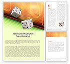 Careers/Industry: Gaming Word Template #05789