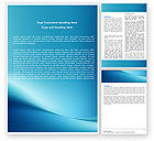 Abstract/Textures: Clean Blue Word Template #05814