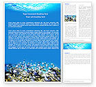 Nature & Environment: Coral Skerry Word Template #05817