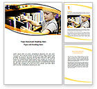 Education & Training: Childrens Library Word Template #05843