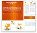 Global: Different Worlds Word Template #05880