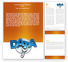 Technology, Science & Computers: Data Safety Word Template #05887
