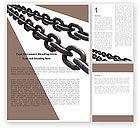 Business Concepts: Modelo do Word - cadeias de aço #05896