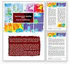 Nature & Environment: Meteorology Collage Word Template #05902