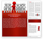Business Concepts: Team Leader Word Template #05914