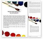 Careers/Industry: Watercolor Word Template #05919