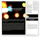 Abstract/Textures: Lights Of Bokeh Word Template #05926
