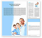 People: Medical Team On Duty Word Template #05935