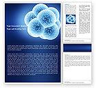 Medical: Modèle Word de la division cellulaire #05948