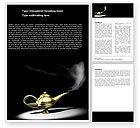 General: Aladdin's Magic Lamp Word Template #05956