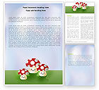 Education & Training: Death Cap Word Template #05965