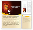Careers/Industry: E-Commerce Word Template #05969