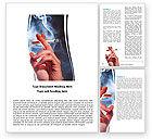 Medical: Quitting Smoking Word Template #05975