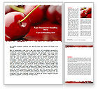 Agriculture and Animals: Cherry Word Template #05999