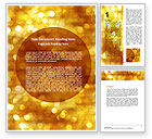 Abstract/Textures: Yellow Word Template #06000