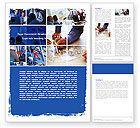 Business: Plantilla de Word - grupo de constructores #06015