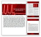 Medical: Modelo do Word - ritmo do coração #06036