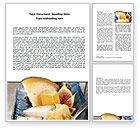 Food & Beverage: Cheese Word Template #06038