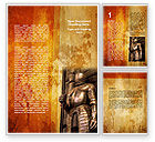 Education & Training: Knight Armor Word Template #06060