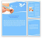 Sports: Slimming Word Template #06061