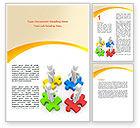 Business Concepts: Modèle Word de relation de travail #06096