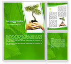Nature & Environment: Growth Word Template #06130