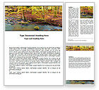 Nature & Environment: Autumn Scenery Word Template #06147
