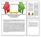 Careers/Industry: Immobilien-entwicklung Word Vorlage #06163
