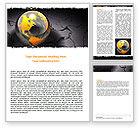 Global: Modello Word - Mondo shuttered #06169