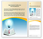 Education & Training: Enlightenment Word Template #06181